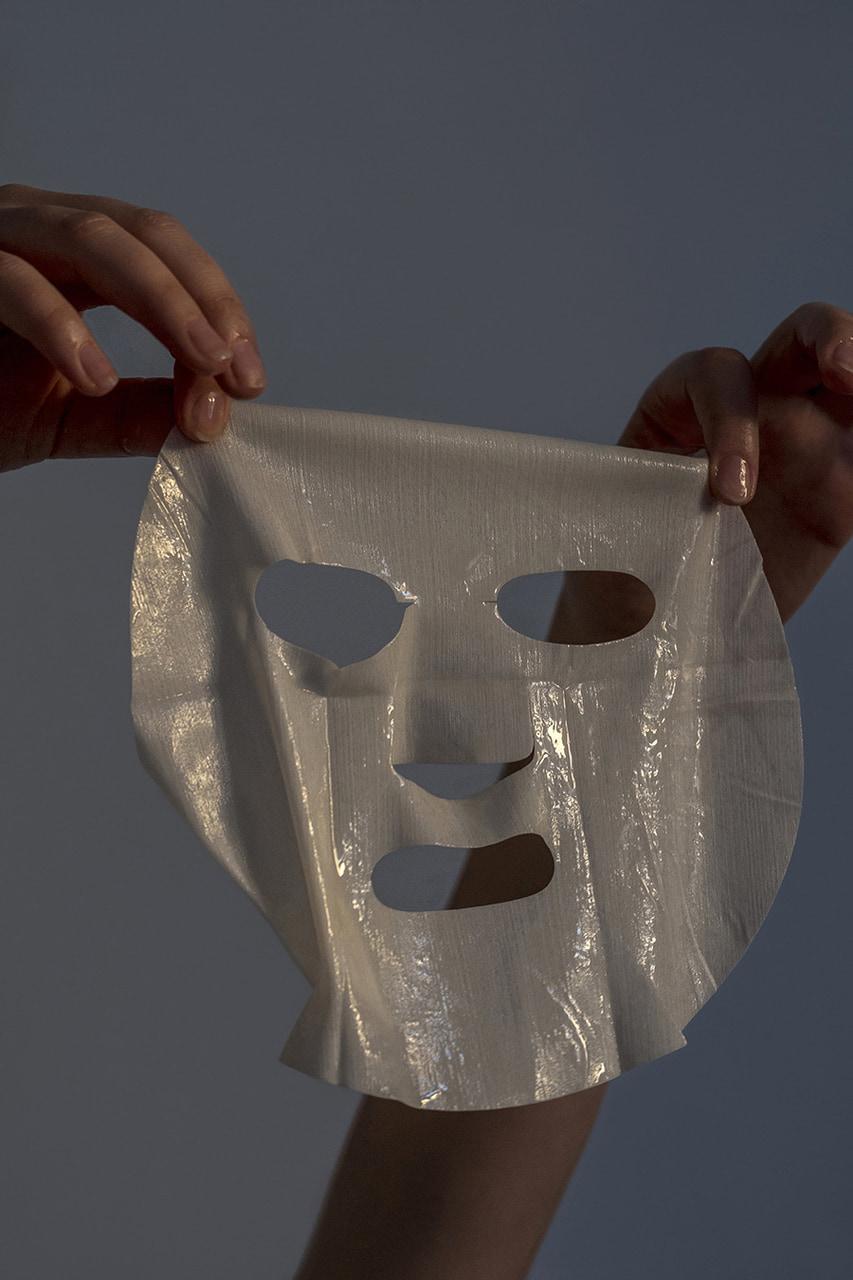 face mask, skin, and moisturizer image