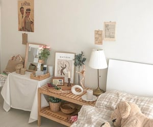 aesthetic, soft, and bedroom image