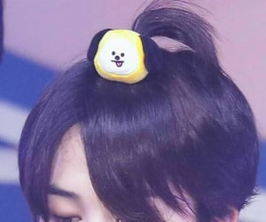 adorable, hair, and park jimin image
