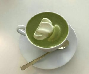 green, drink, and soft image