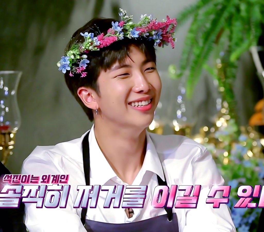 boy, kim namjoon, and flower image