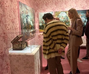 Harry Styles, museum, and style image