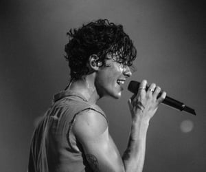 shawn mendes, boy, and b&w image