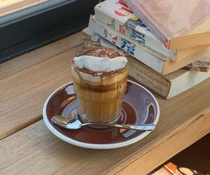cafe, coffee, and cream image