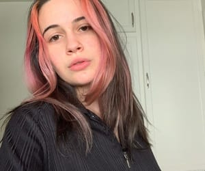 beautiful, hair, and rose image