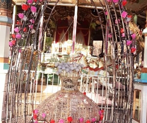 amusement park, carousel, and toshimaen image