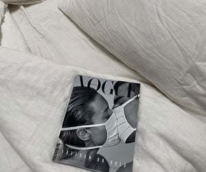 vogue, aesthetic, and bed image
