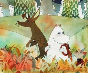 adventure, moomintroll, and sniff image