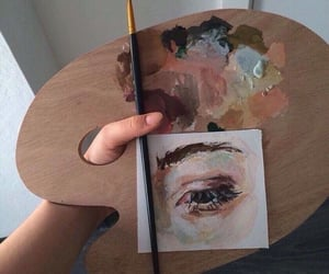 aesthetic, art, and paint image