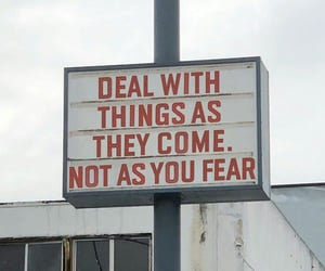 fear, quote, and words image