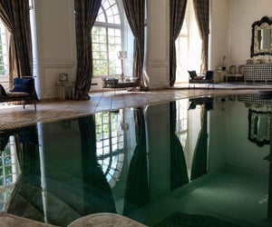 indoor pool, home, and pool image