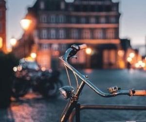 bicycle, bokeh, and inspiration image
