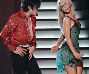 britney spears, king, and michael jackson image