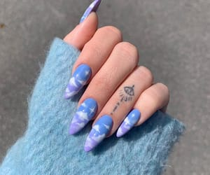 fingers, hand, and nail image
