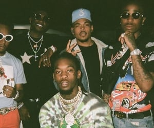 migos, gucci mane, and chance the rapper image
