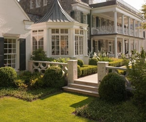 fancy, luxury, and mansion image