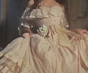 dress, vintage, and princess image