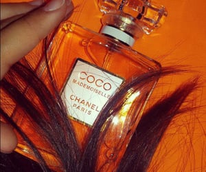 orange, chanel, and fashion image