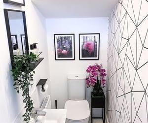 bathroom, deco, and decor image