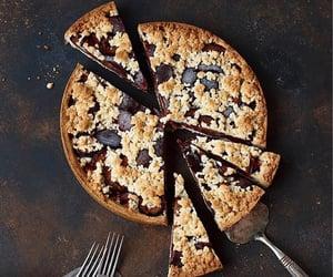 bake, black, and cake image
