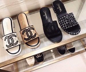 chanel, sandals, and designer image
