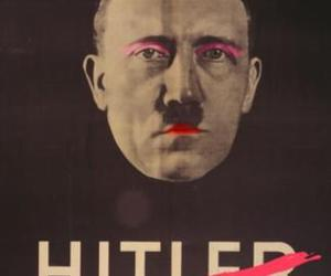 hitler, funny, and lol image