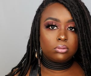 African, makeup, and black image