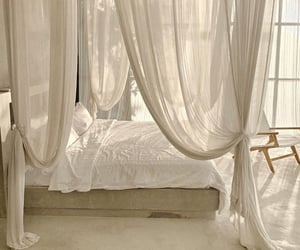 aesthetic, bedroom, and drapes image