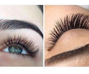 eyelash extensions and eyelash goals image