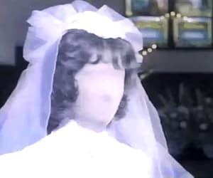 animated gif, bride, and faceless image