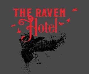 hotel, netflix, and raven image