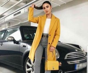 coats, gucci, and pants image