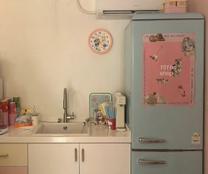 aesthetic, house, and kitchen image