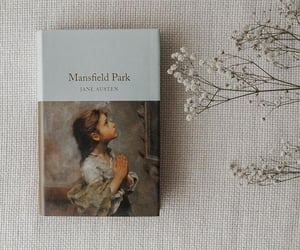 books, jane austen, and mansfield image