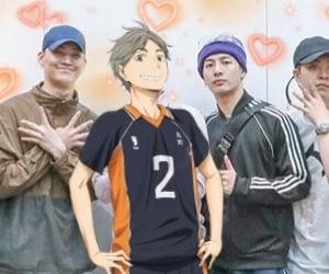 anime, suga, and header image