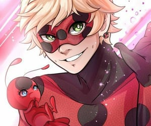 adrien agreste and tikki image