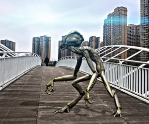 alien and invasion image