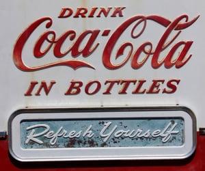 coca cola and retro image