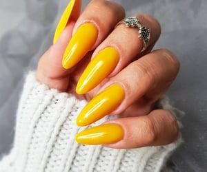 manicure, nail, and paznokcie hybrydowe image