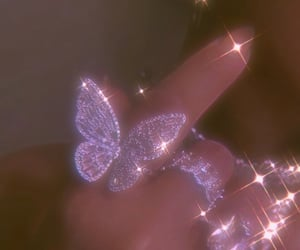 2000s, bling, and butterfly image