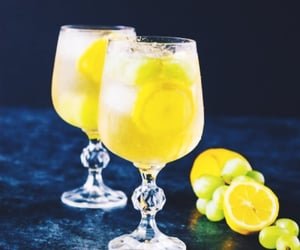 citrus, drinks, and lemon image
