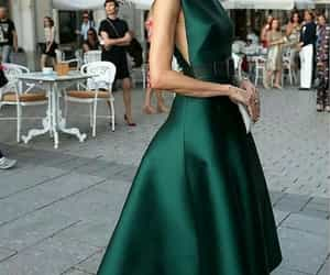 chic, dress, and party look image