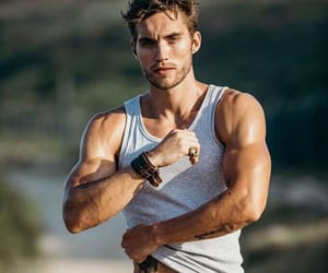 Hot, male model, and aesthetic image