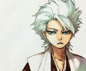 anime, bleach, and hitsugaya toshiro image