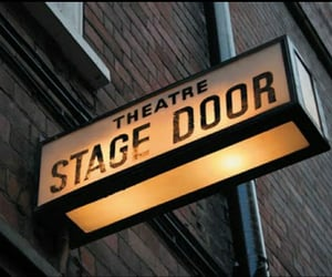 theatre, stage door, and aesthetic image