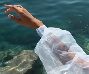 fashion, water, and style image