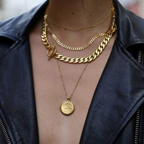 layering necklaces image