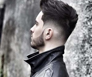 mens hair cut, mens hair styles, and mens short hairstyles image