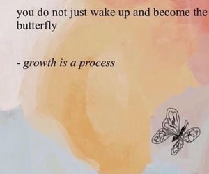 quotes, growth, and butterfly image