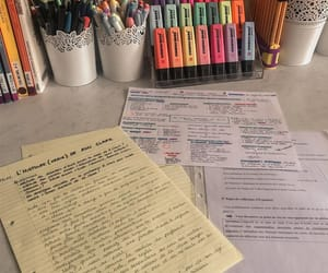 stabilo, study, and study notes image